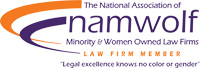 namwolf: The National Association Minority & Women Owned Law Firms